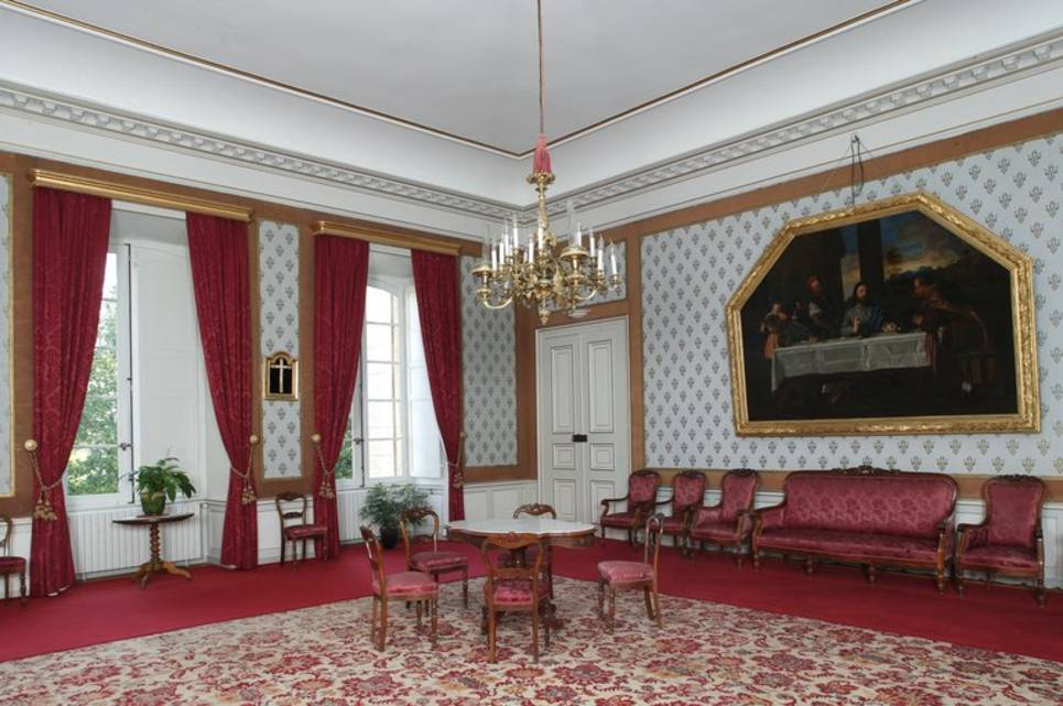 Vue du grand salon.